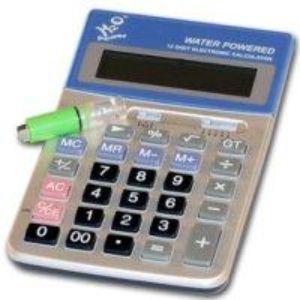 Создан калькулятор, работающий на воде. Фото с сайта onegadget.ru