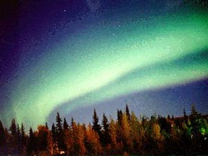 Северное сияние над Аляской. Фото: Jan Curtis /Геофизический институт университета Аляски