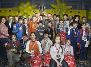 Участники I Всероссийской зимней спартакиады детей-инвалидов и детей с ограниченными возможностями. Фото: ФЦП