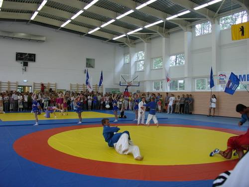 Спортивный зал в новом комплексе. Фото: ФЦП