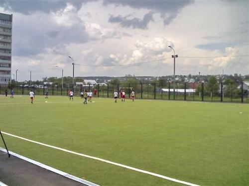 Футбольное поле при СОШ №75. Фото ФЦП