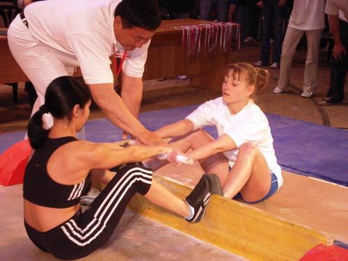 И девушки неравнодушны к якутской палке...Фото: МО