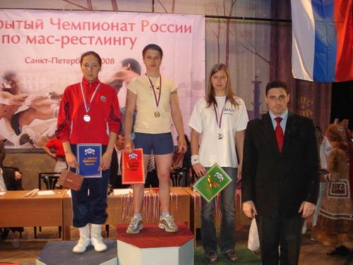 В весе до 56 кг. самой сильной среди женщин оказалась Галя Соболева из Санкт-Петербурга,на 2-ом Гоголева Акулина из Якутии, на 3-ем Леушева Наталия из команды ЯМАЛА. Фото: МО