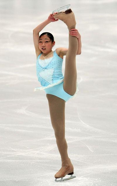 Мираи Нагасу (команда Северной Америки) исполняет произвольную программу. Фото: Koichi Kamoshida/Getty Images