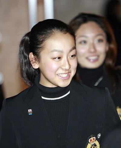 На церемонии открытия чемпионата мира-2007 в Токио (Япония). Фото: YOSHIKAZU TSUNO/AFP/Getty Images