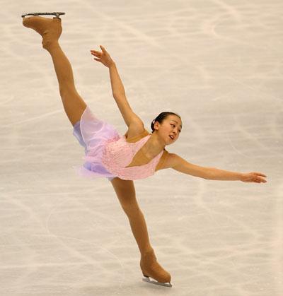 Короткая программа на чемпионате мира-2007 в Токио (Япония). Фото: Koichi Kamoshida/Getty Images