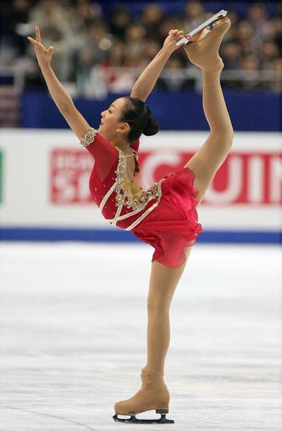 Произвольная программа на чемпионате мира-2007 в Токио (Япония). Фото: Koichi Kamoshida/Getty Images