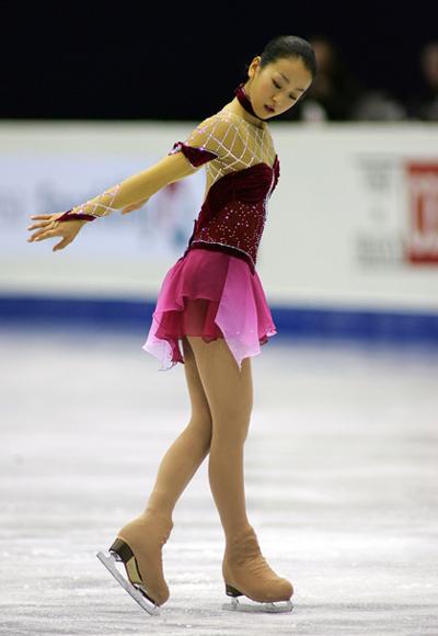 Произвольная программа на Турнире четырех континентов-2008 г. в Гояне (Южная Корея). Фото: Chung Sung-Jun/Getty Images