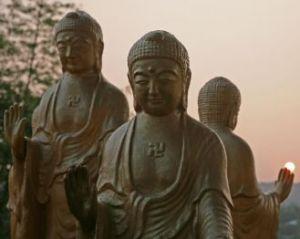 Статуи Будд. Фото: Rich Carlson