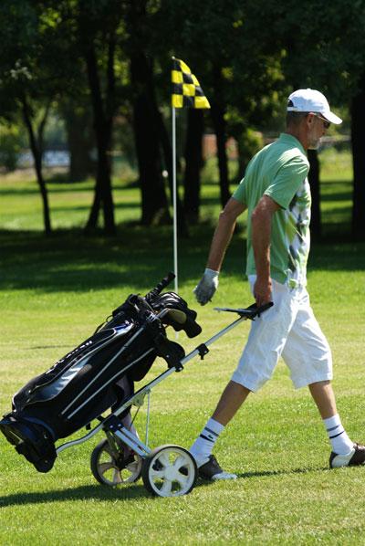 Чемпионат по гольфу в Киевском гольф-центре 28 и 29 июля 2008 года. Фото: Владимир Бородин/The Epoch Times