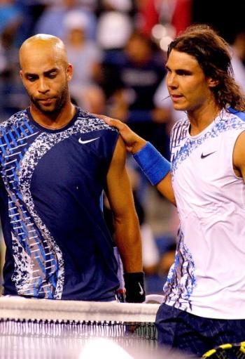 На теннисном турнире в Индиан-Уэллс (США) сыграны первые два четвертьфинала в мужском одиночном разряде. Фото: Matthew Stockman/Getty Images