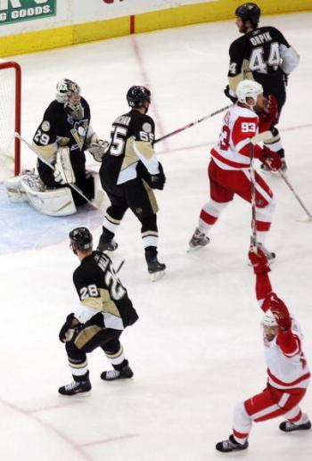 В Питтсбурге прошёл третий матч финальной серии. Фото: Jim McIsaac/Getty Images
