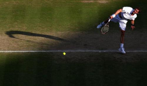 На Уимблдонском теннисном турнире в понедельник были сыграны матчи 1/8 финала в мужском одиночном разряде. Фото: Ryan Pierse /Getty Images