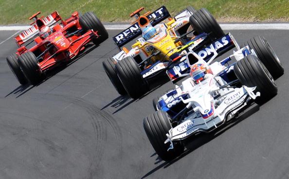 В Венгрии на трассе «Хунгароринг» прошел 11-й этап чемпионата мира по автогонкам Формулы 1. Фото: BERTRAND GUAY/AFP/Getty Images