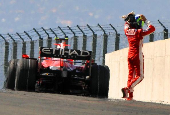 В Венгрии на трассе «Хунгароринг» прошел 11-й этап чемпионата мира по автогонкам Формулы 1. Фото: ATTILA KISBENEDEK/AFP/Getty Images