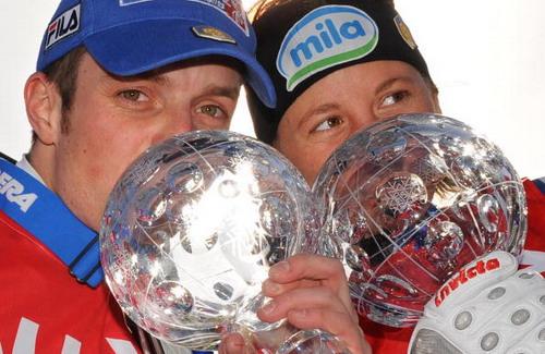 В Холменколлене на заключительном этапе Кубка мира прошли гонки преследования. Фото: CHRISTOPHE SIMON/AFP/Getty Images