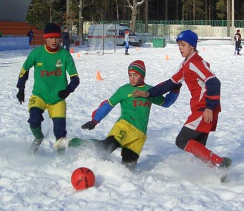 Футбол. Фото предоставлено автором