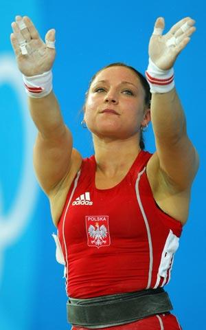 Чемпионка Европы и вице-чемпионка мира по тяжелой атлетике Марина Шаинова. Фото: Stu Forster/Getty Images