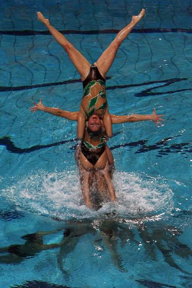 На чемпионате Европы в Эйндховене в понедельник завершились соревнования по синхронному плаванию. Фото: Lars Baron/Bongarts/Getty Images