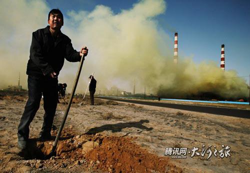 Экономическое развитие Китая наносит невосполнимый ущерб экологии. Фото: Великая Эпоха.