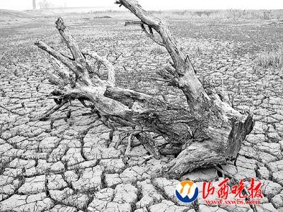Засуха в провинции Шаньси. 3 февраля 2009 г. Фото с epochtimes.com