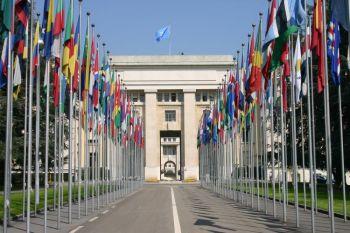 Здание ООН в Женеве Фото: Ян Екилек /The Epoch Times