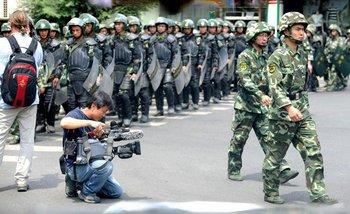 Город Урумчи после инцидента «5 июля». Фото с epochtimes.com