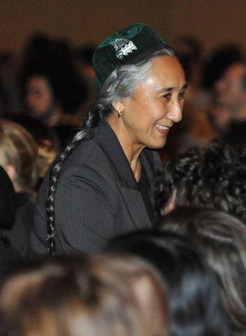 Лидер уйгур Ребия Кадир в журналистском клубе в Австралии рассказывает о политике подавления нацменьшинств китайской компартией. 11 августа 2009 года. Фото: AFP