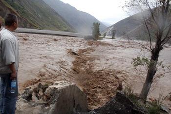 Крупные наводнения охватили 16 провинций Китая. Фото: AFP PHOTO