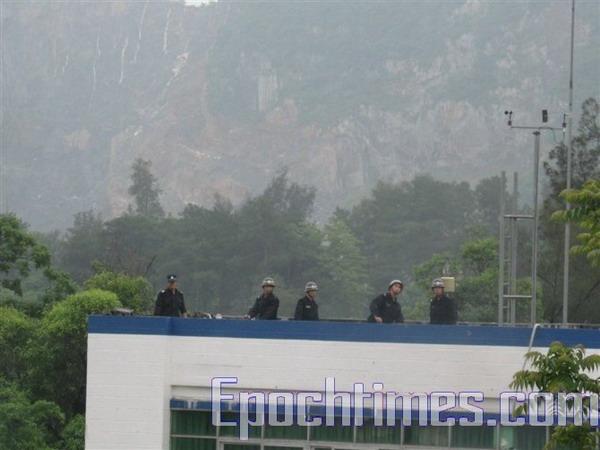Фото с места событий. 23 мая. Посёлок Инхун провинции Гуандун. Фото: The Epoch Times