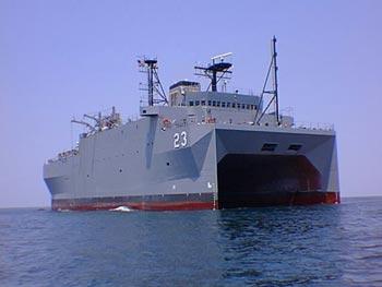 Китайские суда совершали маневры в опасной близости к американскому кораблю USNS Impeccable. Фото с официального сайта ВМФ США