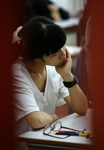 Всё больше китайских студентов страдают психическими расстройствами. Фото: Chung Sung-Jun/Getty Images
