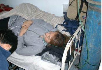 Пострадавшие от отравления в городе Цзилинь. Фото с epochtimes.com