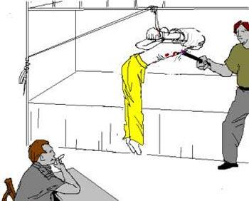 Пытаясь заставить последователей Фалуньгун отказаться от практики по этой системе,   принудительно-трудовые лагеря применяют различные виды жестоких пыток для издевательств   над практикующими, например, такие как