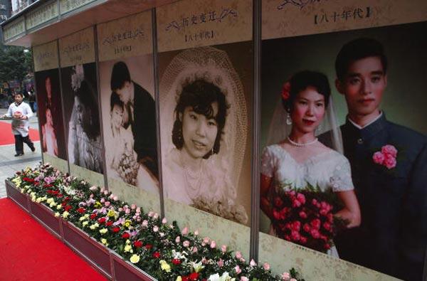 Свадьбы в 80-х годах. Фото: Getty Images