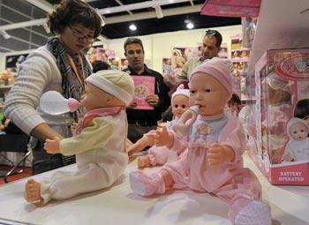 Выставка-продажа игрушек в Гонконге. Фото: Getty Images