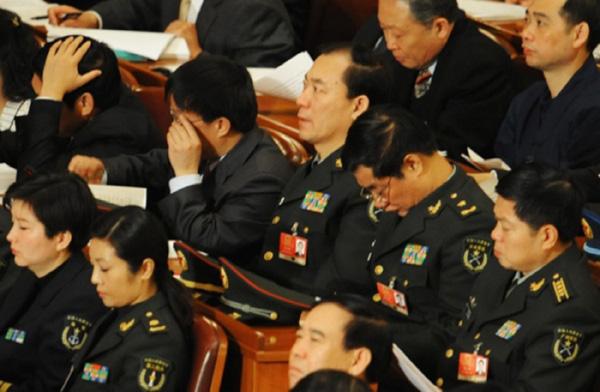 В Пекине на время проведения Съезда всекитайского собрания народных представителей, охранная полиция приведена в состояние повышенной боевой готовности. Фото с epochtimes.com