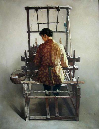 Картина Вана Минюе «Без названия»