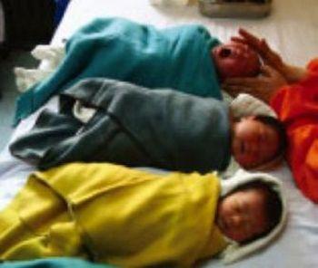 Каждый 3 дня в городе Тяньцзинь находят одного брошенного ребёнка. Фото с epochtimes.com