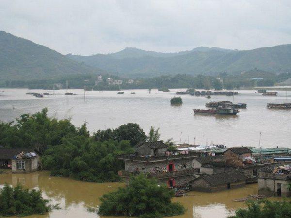 Наводнения на юге Китая. Фото с epochtimes.com