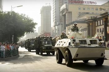 Ситуация в СУАР по-прежнему остаётся напряжённой. Фото: AFP/Getty Images