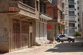В августе в Алжире произошло нападение на китайских мигрантов, были разбиты несколько китайских магазинов. Фото: FAYEZ NURELDINE/AFP/Getty Images