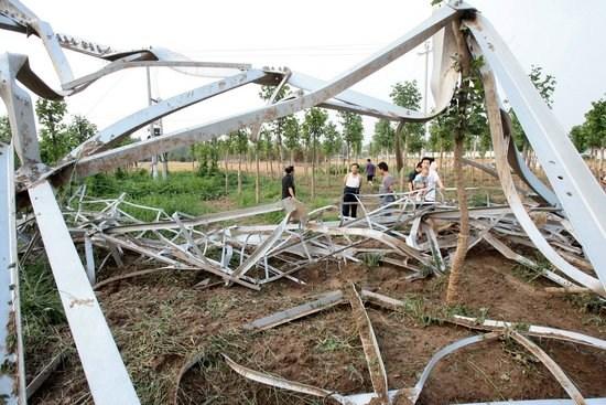 Телебашня без верхушки. Город Цзиньчжоу провинции Хэбэй. Фото с epochtimes.com