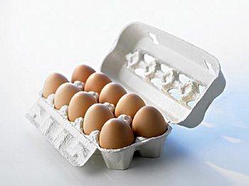 В куриных яйцах, привезённых из Китая, обнаружено повышенное содержание меламина. Фото: Великая Эпоха.