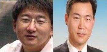 Китайские адвокаты-правозащитники Чжан Кай и Ли Фучунь. Фото с epochtimes.com