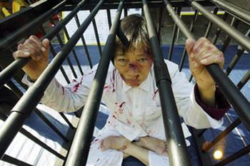 Заперты: с глаз долой - из сердца вон. Коммунистическая партия Китая обходится особенно жестоко с инакомыслящими. Фото: Mike Clarke/AFP/Getty Images