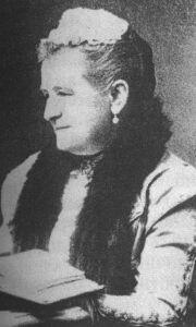 Княгиня Н.А. Барятинская, статс-дама императрицы Марии Федоровны. Расстреляна в Багреевке в 1920 г.