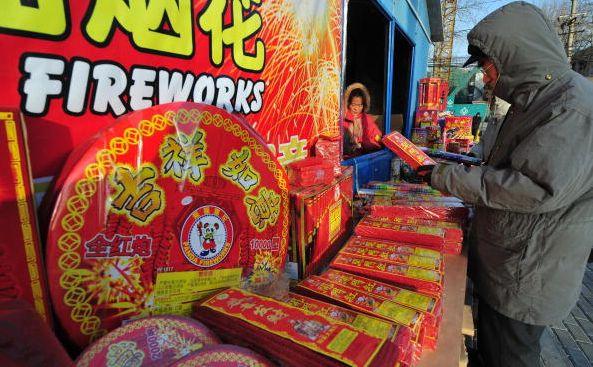 Китайцы делают предновогодние покупки. Фото: Getty Images