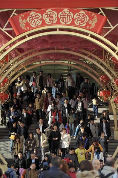Гонконг накануне Нового года. Фото: Getty Images