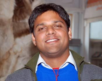Аджат Шатру из Индии, студент медицинского института. Фото: Юлия Цигун/Великая Эпоха